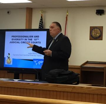 Diversity Training Provided By The Honorable William L. Roby At The St. Lucie County Annex